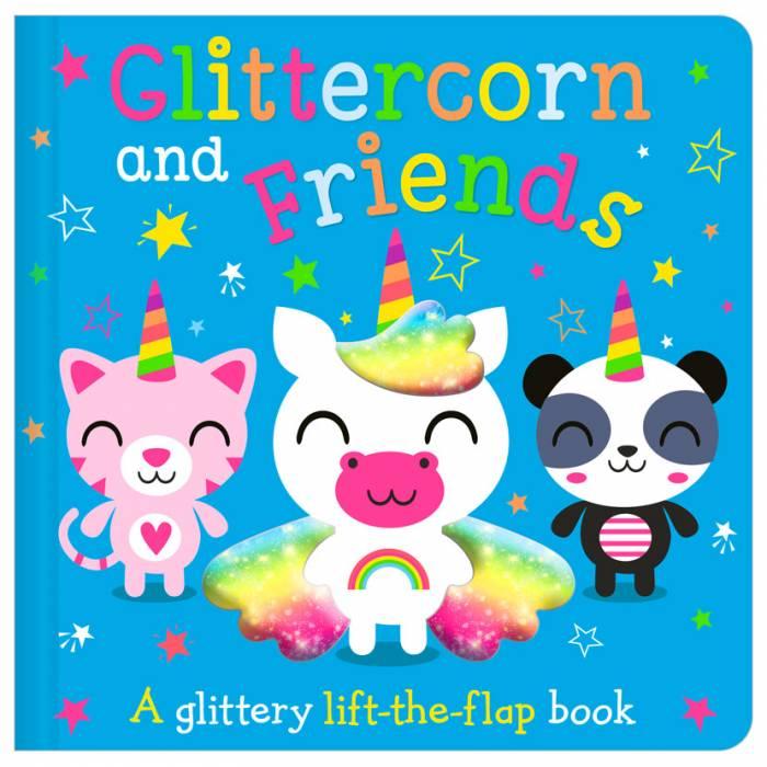 First Spread of Glittercorn and Friends (9781800581388)
