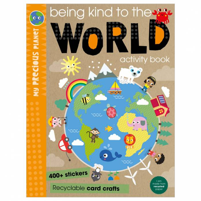 First Spread of Being Kind to the World (9781800581982)