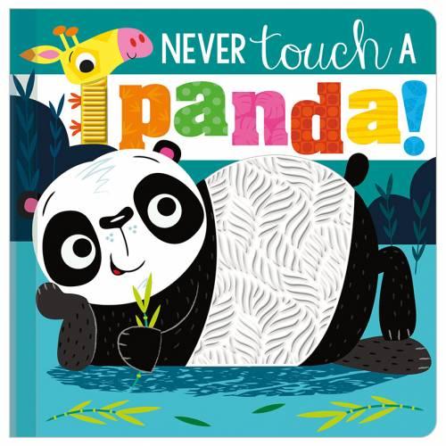 First Spread of Never Touch a Panda! (9781789477450)