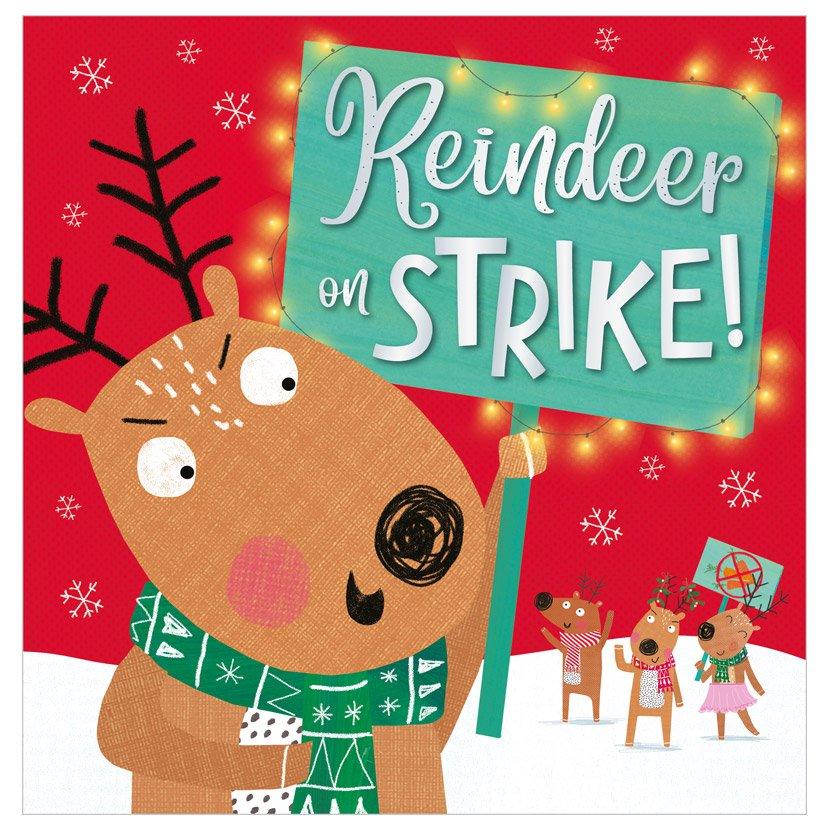 First Spread of Reindeer on Strike! (9781789477245)