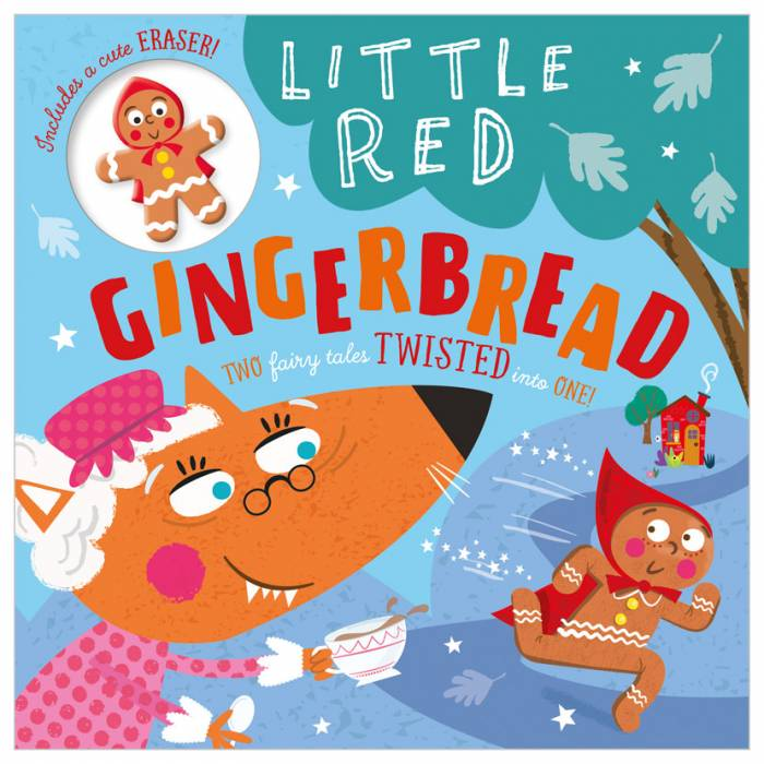 First Spread of Little Red Gingerbread (9781789478389)