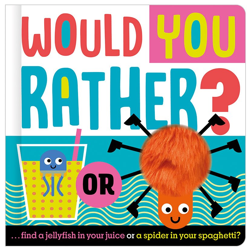 First Spread of Would You Rather (9781789477290)