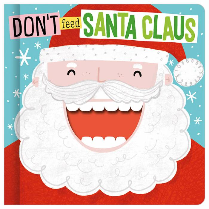 First Spread of Don't Feed Santa Claus (9781789476873)