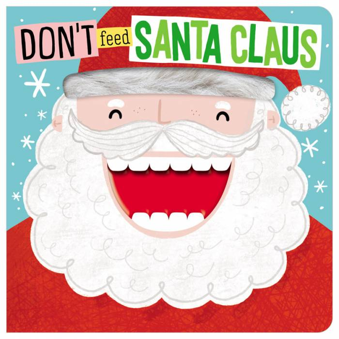 First Spread of Don't Feed Santa Claus (9781800588202)