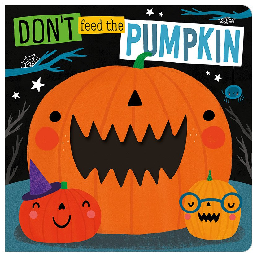 First Spread of Don't Feed The Pumpkin (9781789476866)