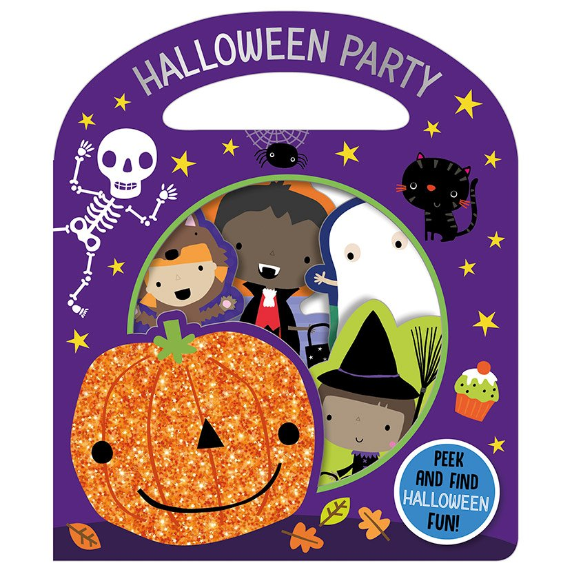 First Spread of Busy Windows Halloween Party (9781789476897)