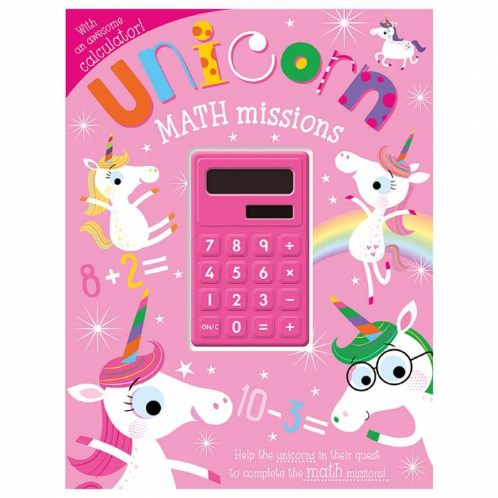 First Spread of Unicorn Math Missions (9781789477870)