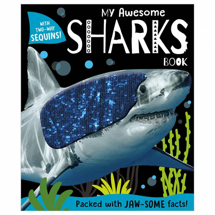 First Spread of My Awesome Sharks Book (9781789478204)