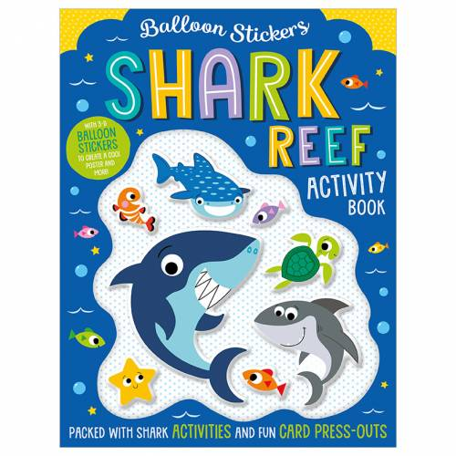 First Spread of Balloon Stickers Shark Reef Activity Book (9781789477955)