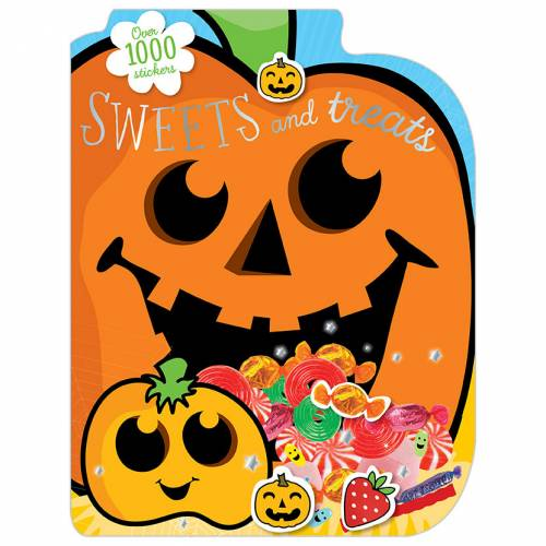 First Spread of 1000 Stickers Sweet Treats (9781782354857)
