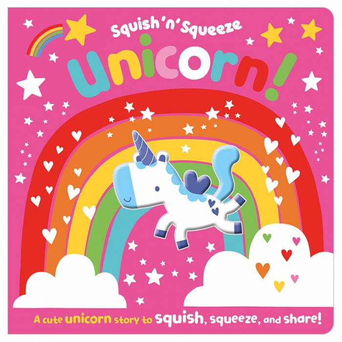 First Spread of Squish 'n' Squeeze Unicorn! (9781789478525)
