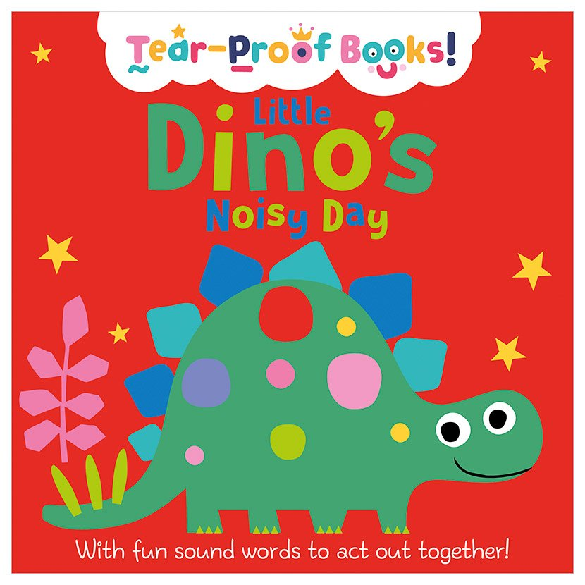 First Spread of Little Dino's Noisy Day (9781789478501)