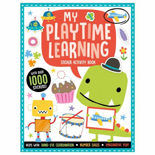 First Spread of Playtime Learning My Playtime Learning Sticker Activity Book (9781789479973)