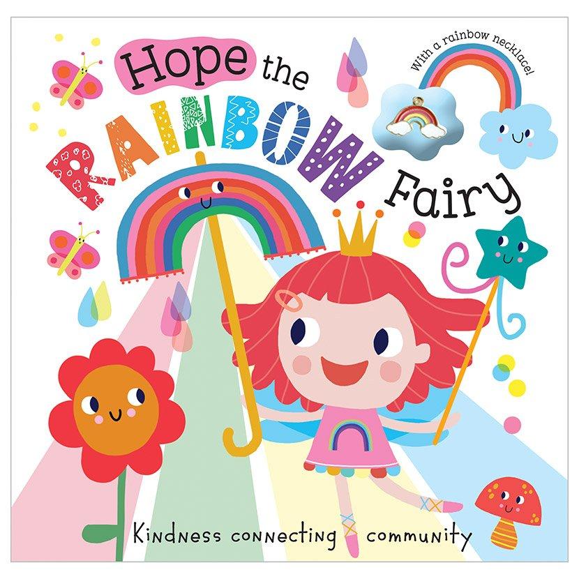 First Spread of Hope the Rainbow Fairy (9781800580008)