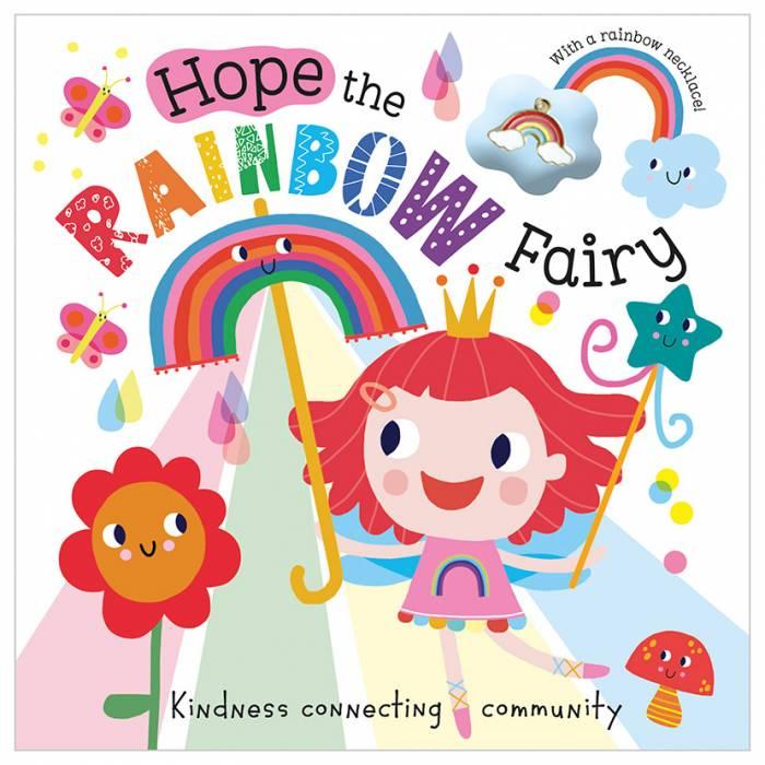 First Spread of Hope the Rainbow Fairy (9781800580022)