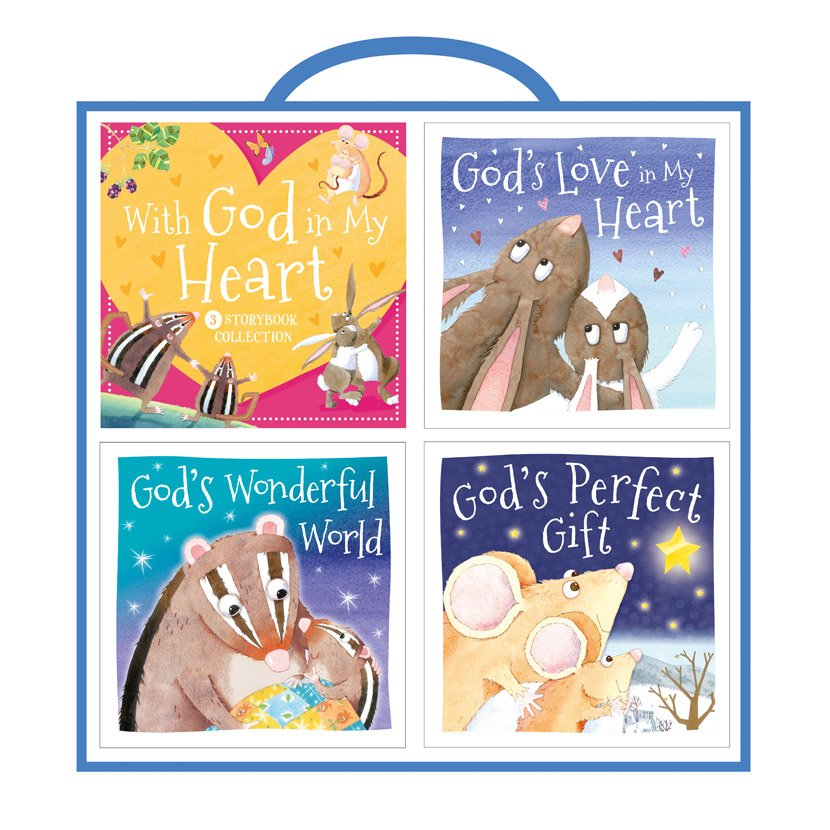 First Spread of With God in My Heart Storybook Collection (9781800580510)