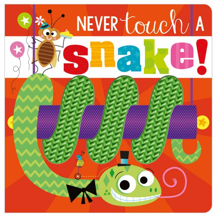 First Spread of Never Touch a Snake! (9781789479775)