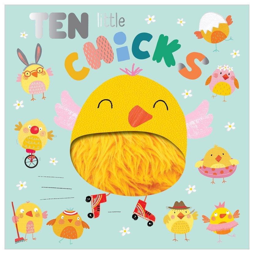 First Spread of Ten Little Chicks (9781800583139)