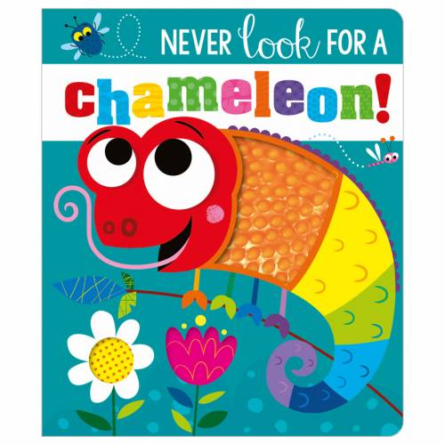 First Spread of Never Look for a Chameleon! (9781800581296)