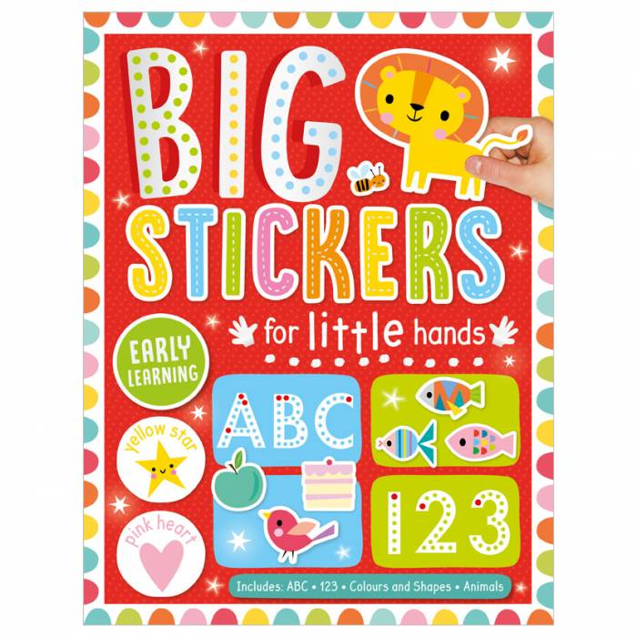 First Spread of Big Stickers for Little Hands Early Learning (9781800581760)