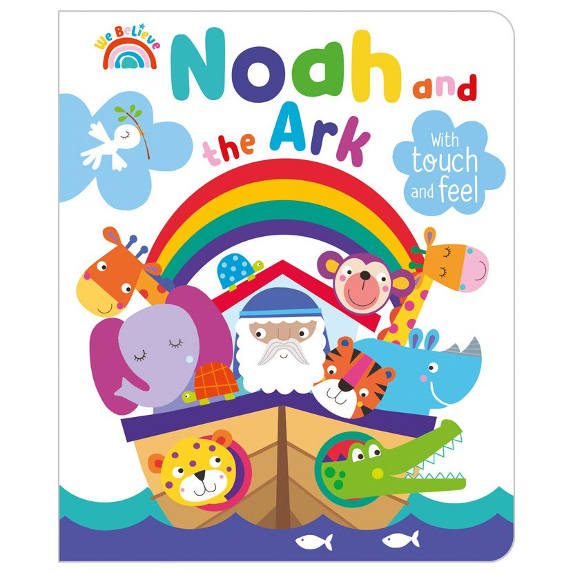 First Spread of Noah and the Ark (9781789478426)