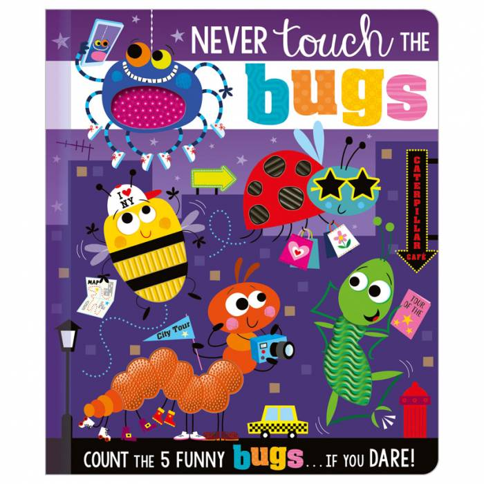 First Spread of Never Touch the Bugs (9781800581524)