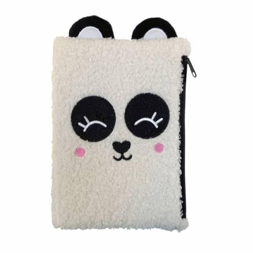 First Spread of Zip it Panda! (9781800587731)