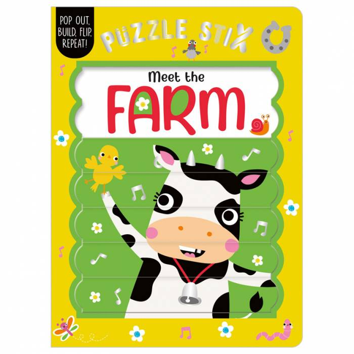 First Spread of Puzzle Stix: Meet the Farm (9781800582521)